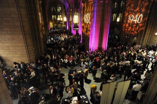 higher ed MOOCs alumni events