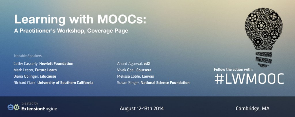 Learning with MOOCs