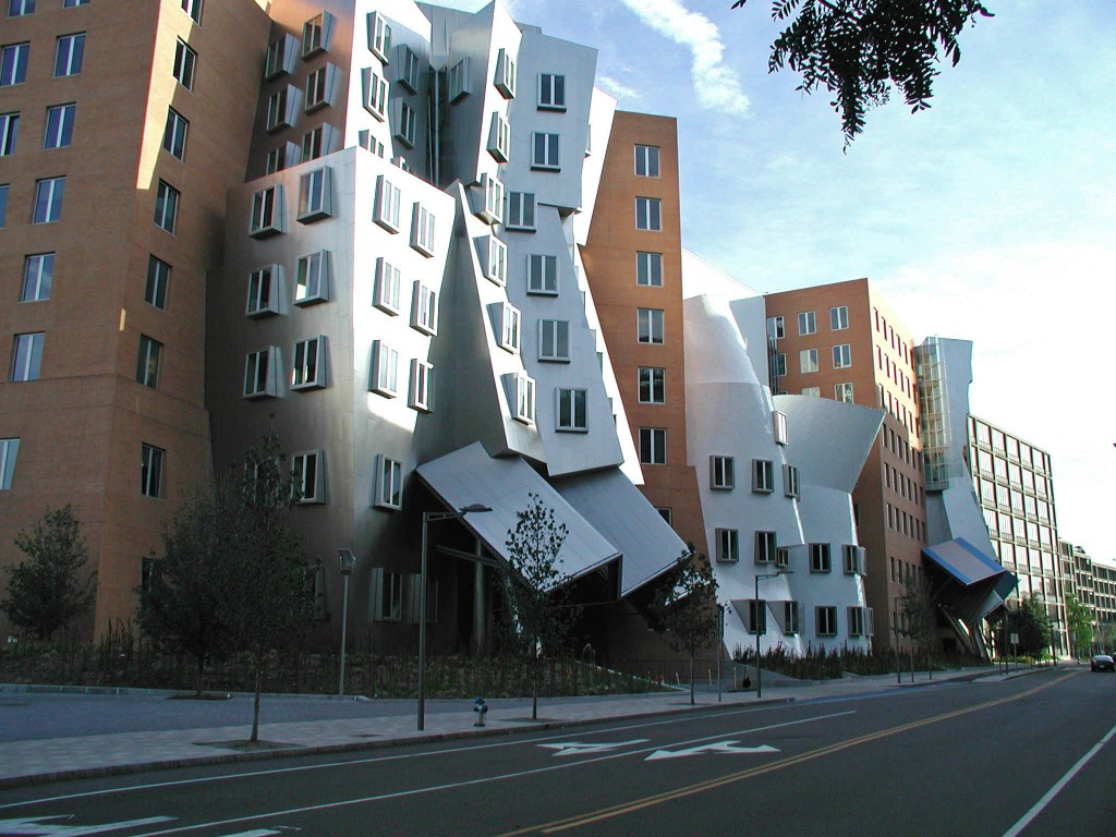 The event was held at the stunning MIT Stata Center