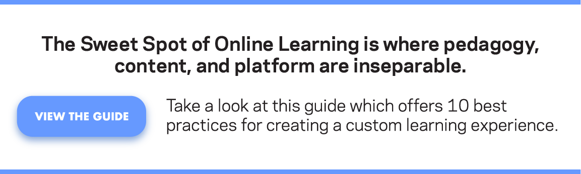 10 Best Practices for Custom Learning Experiences and NGDLE