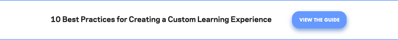 Best Practices for Creating a Custom Learning Experience and NGDLE