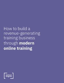 [WHITE PAPER COVER] How to Build a Revenue-Generating Training Business